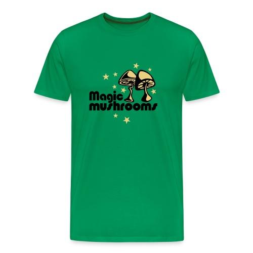magic mushrooms - Men's Premium T-Shirt