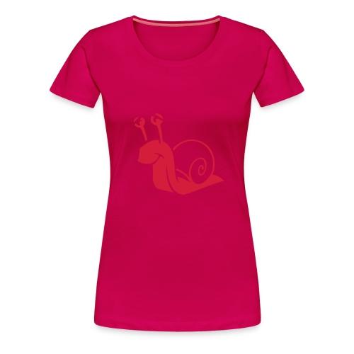 Shirt Schnecke - Frauen Premium T-Shirt