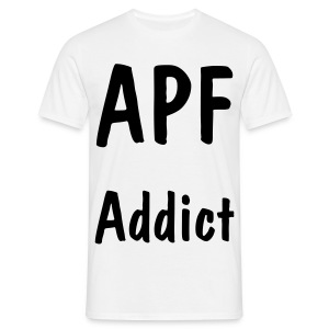 APF Addict White - T-shirt Homme