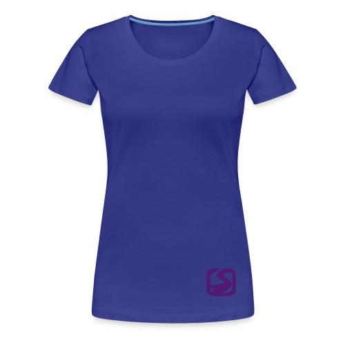 MC Snow-fr Recto/Epaule - T-shirt Premium Femme