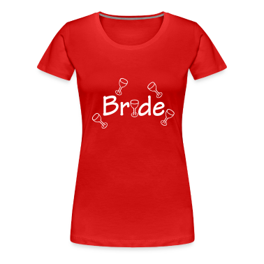 Dark red Bride (wedding, honeymoon) Women's Tees