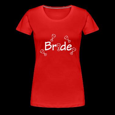 Dark red Bride (wedding, honeymoon) Women's Tees