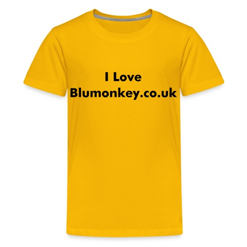 Blumonkey Kids - Teenage Premium T-Shirt
