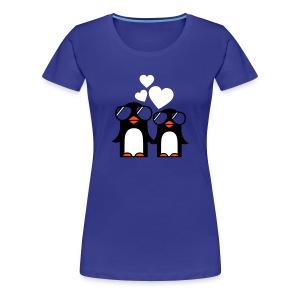 Penguins - Vrouwen Premium T-shirt