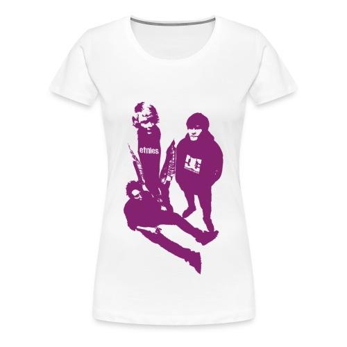 Trendsettarskjorte - Premium T-skjorte for kvinner
