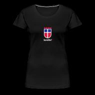 T-Shirts ~ Frauen Premium T-Shirt ~ Saarland, Sarrelibre! Farbe wählbar!