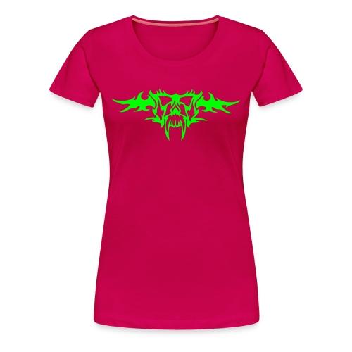 TribalVampire - Neongrön - Flera färger - Premium-T-shirt dam