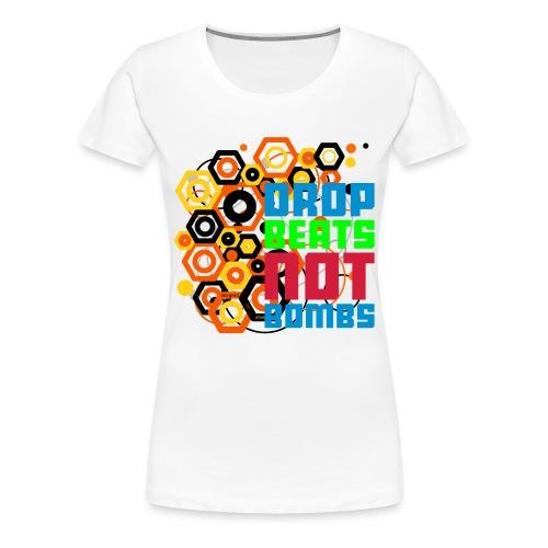 Beats vs Bombs 2 - Frauen Premium T-Shirt