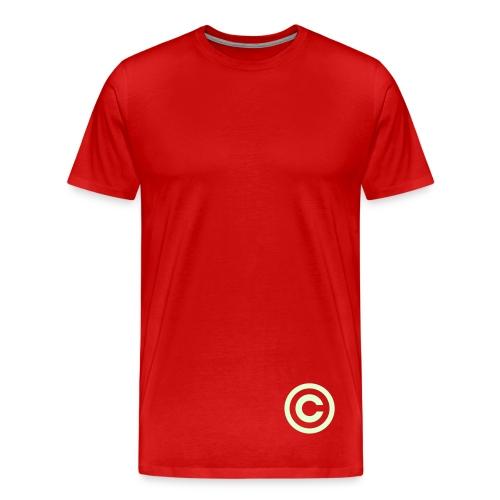 C - Premium T-skjorte for menn
