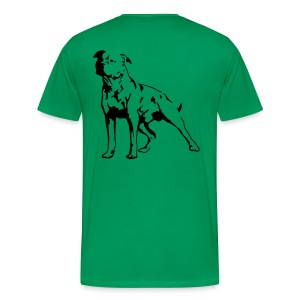 Green/Black Men's D.O.T.L Classic T-shirt - Men's Premium T-Shirt