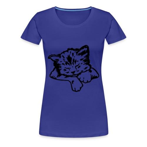 T-shirt minou femme  - T-shirt Premium Femme