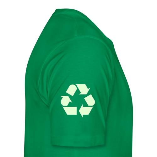 Recycle 2 - Premium T-skjorte for menn