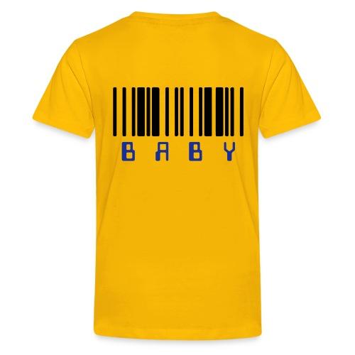 Strichcode - Teenager Premium T-Shirt