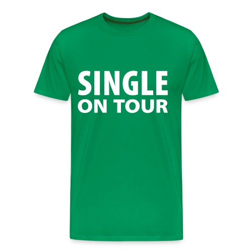 SINGLE - Mannen Premium T-shirt