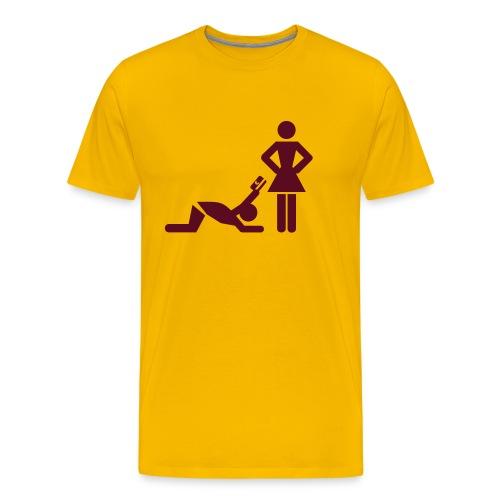 LOOKING - Mannen Premium T-shirt
