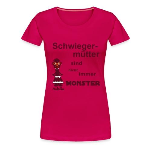 Schwiegermutter - Shirt rosa - Frauen Premium T-Shirt