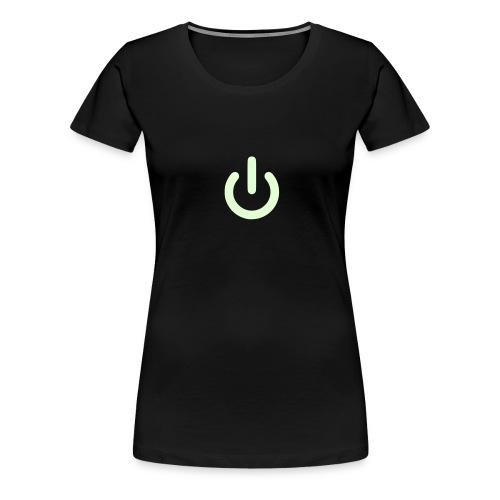 Girl on off - Women's Premium T-Shirt
