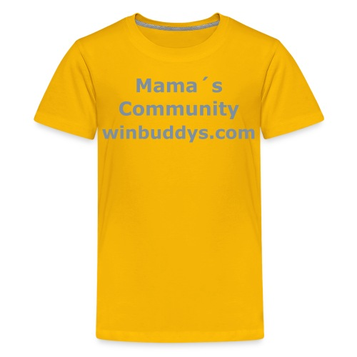 Kinder T-Shirt Mama - Teenager Premium T-Shirt