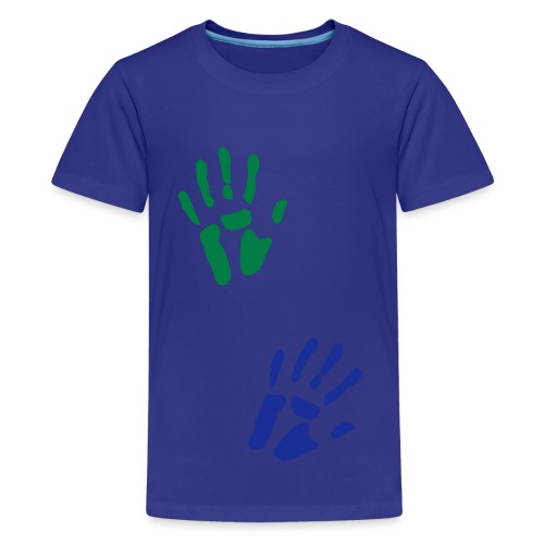 Hand-Kindershirt - Teenager Premium T-Shirt