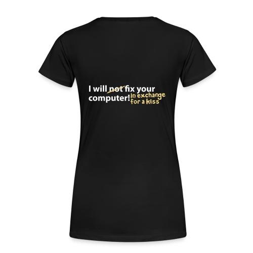 Dame t-skjorte - Premium T-skjorte for kvinner