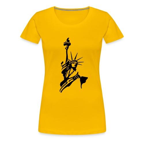 America - Frauen Premium T-Shirt