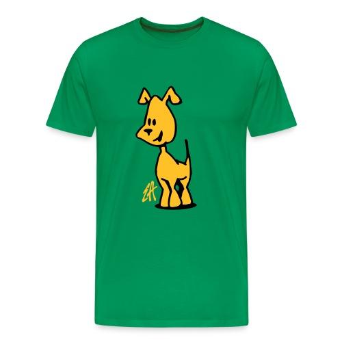 Dog, puppy - Men's Premium T-Shirt