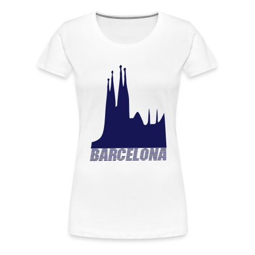 Barcelona - Frauen Premium T-Shirt