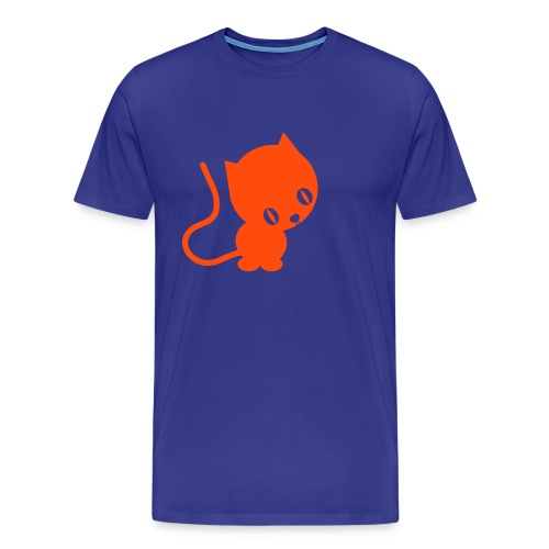 Orange Kittys Rule! - Men's Premium T-Shirt