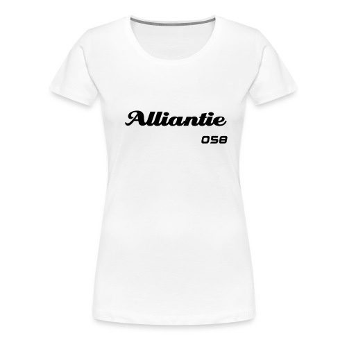 Alliantie women shirt - Vrouwen Premium T-shirt