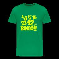 Camisetas ~ Camiseta premium hombre ~ 4 8 15 16 23 42... Bingo!!