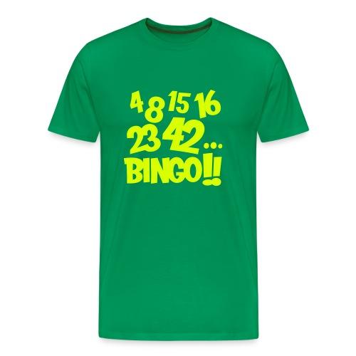4 8 15 16 23 42... Bingo!! - Camiseta premium hombre