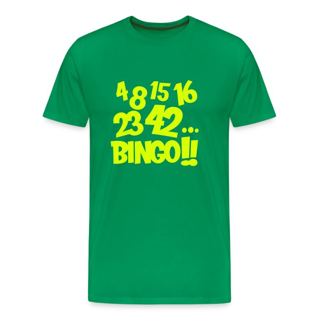 4 8 15 16 23 42... Bingo!!
