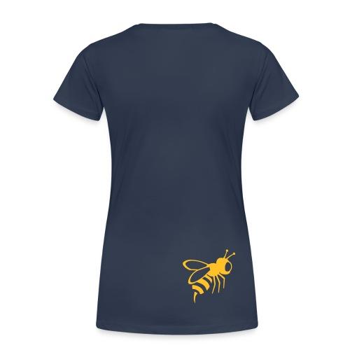 Women's Classic Tee - Navy / Gold - Women's Premium T-Shirt