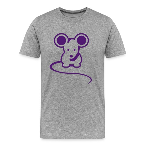 Mouse skjorte - Premium T-skjorte for menn