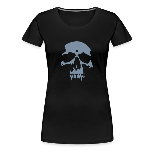 Skull T-shirt (Girl) - Women's Premium T-Shirt