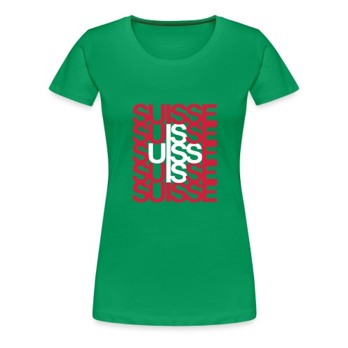 CH-Edition - Frauen Premium T-Shirt