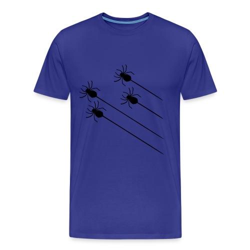 Spider skjorte - Premium T-skjorte for menn