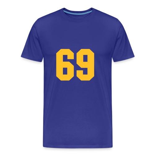 69 - Männer Premium T-Shirt