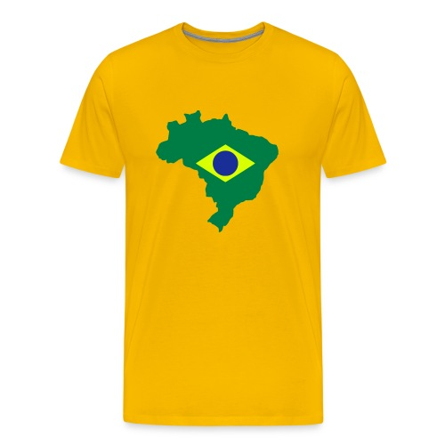 Brazil - Mannen Premium T-shirt