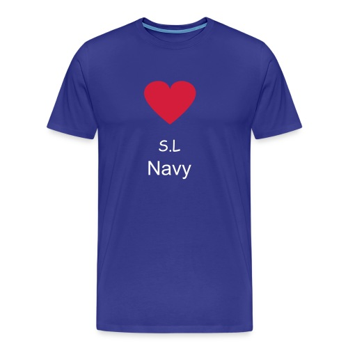 S.L Navy - Men's Premium T-Shirt