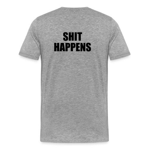shit - Herre premium T-shirt