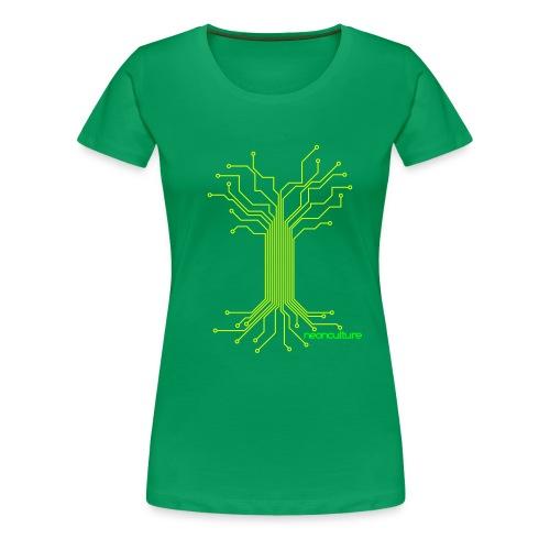 Elektreecity - T Woman - Frauen Premium T-Shirt