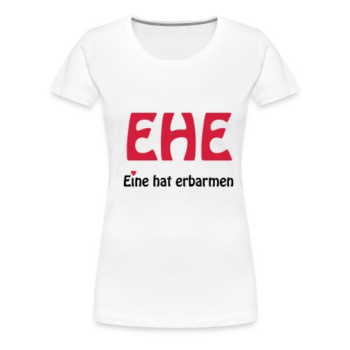 Hochzeit - Frauen Premium T-Shirt