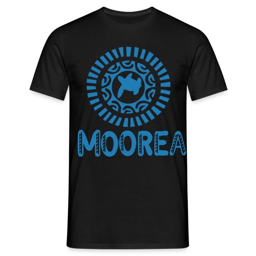 TATTOO MOOREA T-SHIRT TURTLE SHARK - T-shirt Homme
