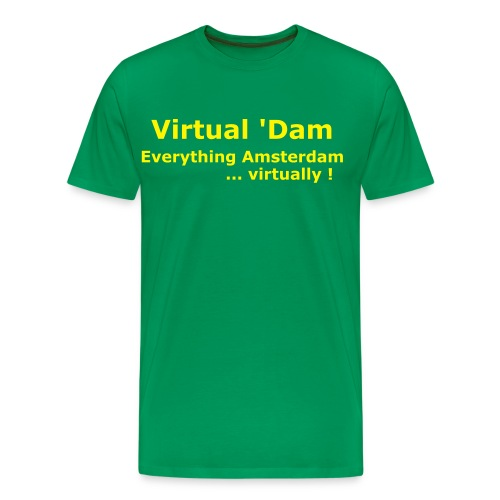 Virtual 'Dam Shirt - Men's Premium T-Shirt