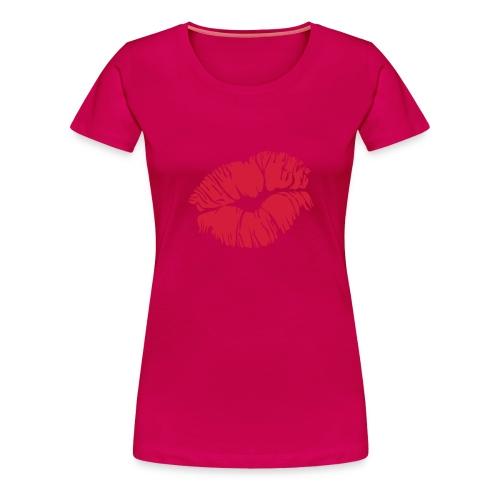 Kiss girl - T-shirt Premium Femme