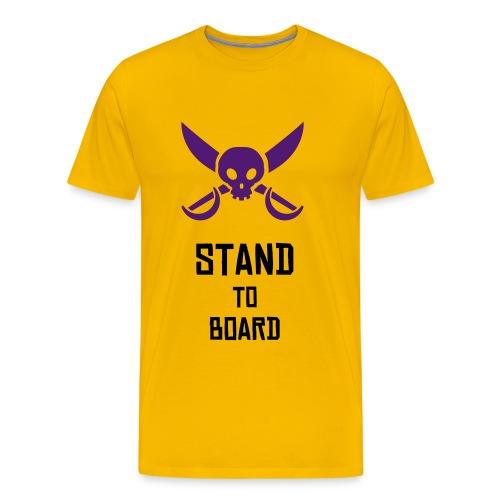Stand to Board - T-shirt Premium Homme