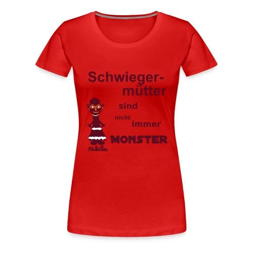 Schwiegermutter - Shirt rot - Frauen Premium T-Shirt
