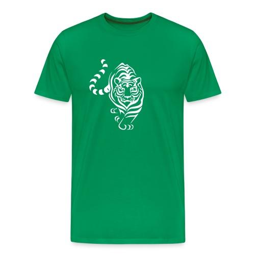 Green Tiger - Männer Premium T-Shirt