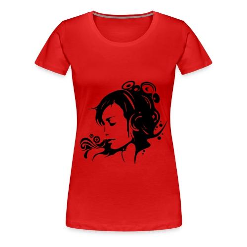 Dj girl t-shirt - Women's Premium T-Shirt